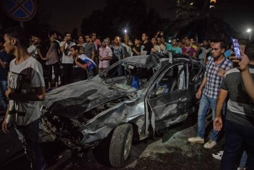 L'attentato contro l'istituto nazionale per il cancro a Il Cairo 10