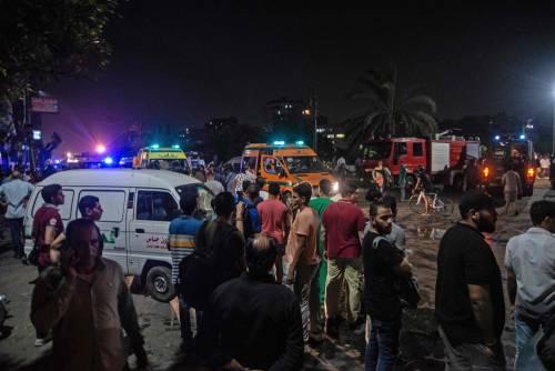 L'attentato contro l'istituto nazionale per il cancro a Il Cairo 2