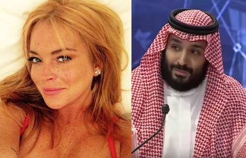 Nuove rivelazioni sul legame tra Lindsay Lohan e Mohammed bin Salman
