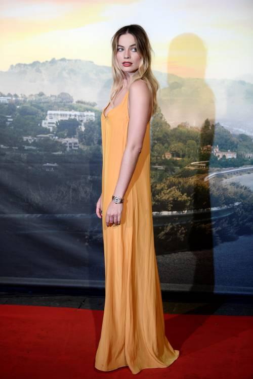 Margot Robbie sul red carpet per Tarantino: foto 4
