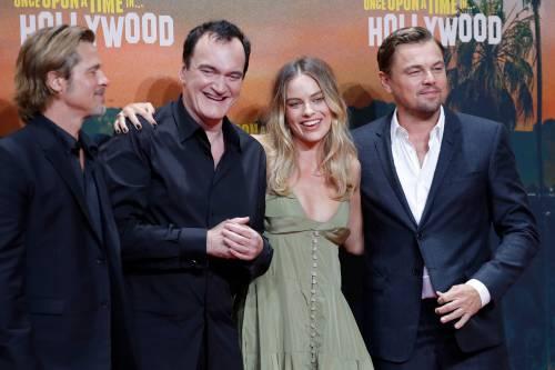 Margot Robbie sul red carpet per Tarantino: foto 9