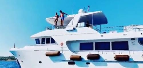 """Alice Campello affitta il suo yacht, ma il web tuona: """"Non ti vergogni?"""""""