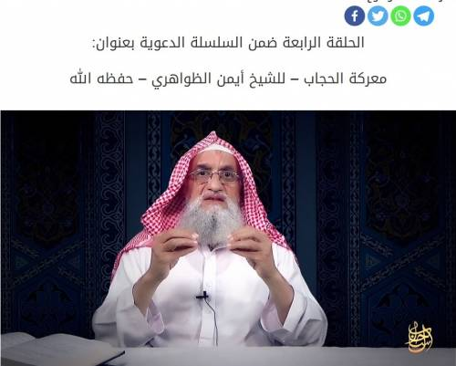 """Al Qaeda alle donne: """"La nostra è una battaglia per il velo"""""""