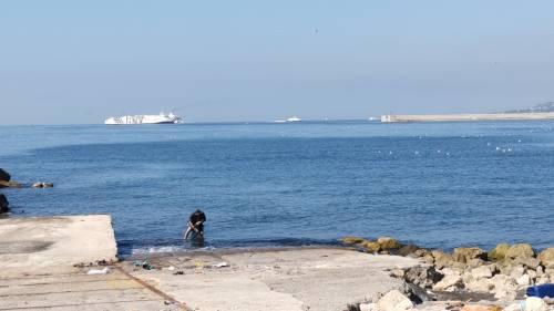 Napoli, la ex Corradini ridotta a macerie 2