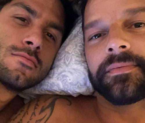 Ricky Martin pubblica la prima foto della figlia Lucia sui social