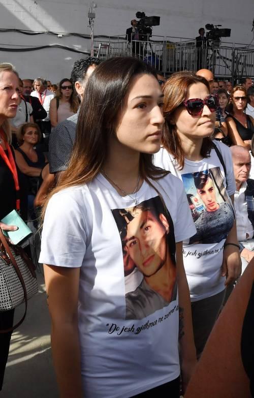 Genova, la commemorazione delle vittime del crollo ponte Morandi 2