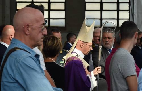 Genova, la commemorazione delle vittime del crollo ponte Morandi 4