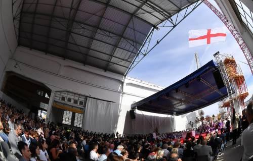 Genova, la commemorazione delle vittime del crollo ponte Morandi 5