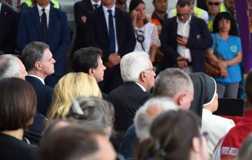 Genova, la commemorazione delle vittime del crollo ponte Morandi 8