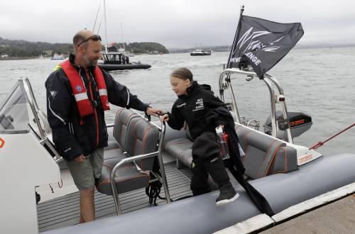Greta viaggia con Pierre Casiraghi, azionista di Monacair