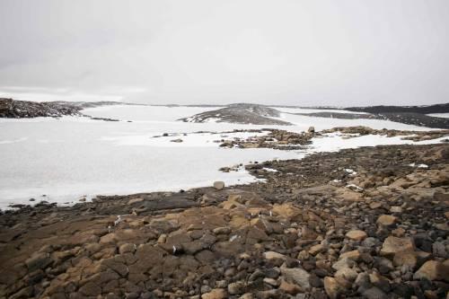 I funerali al primo ghiacciaio scomparso in Islanda 5