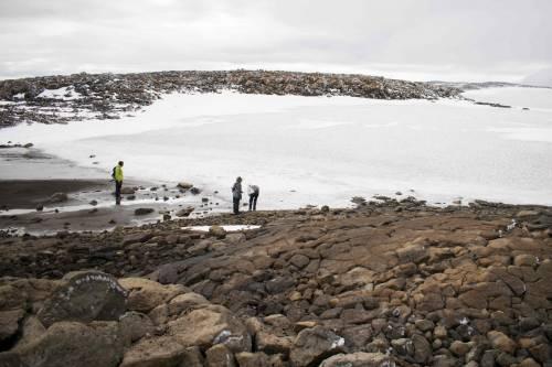 I funerali al primo ghiacciaio scomparso in Islanda 6