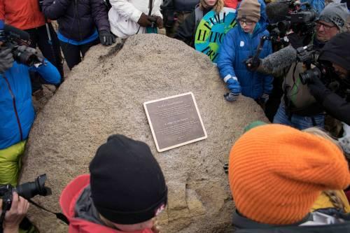 I funerali al primo ghiacciaio scomparso in Islanda 9