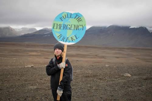 I funerali al primo ghiacciaio scomparso in Islanda 2