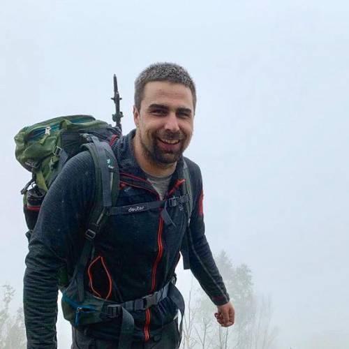 David, l'alpinista cieco che sfida il Monte Bianco
