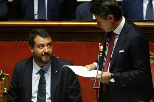 Crisi di governo, la gestualità di Matteo Salvini 3