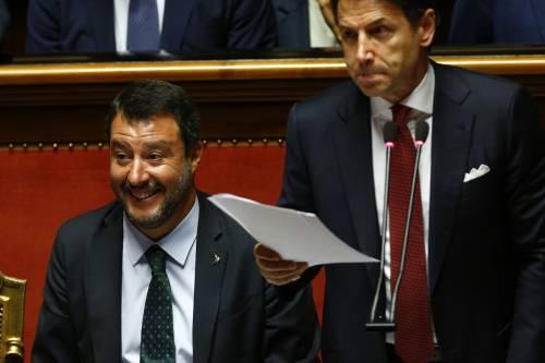 Crisi di governo, la gestualità di Matteo Salvini 2