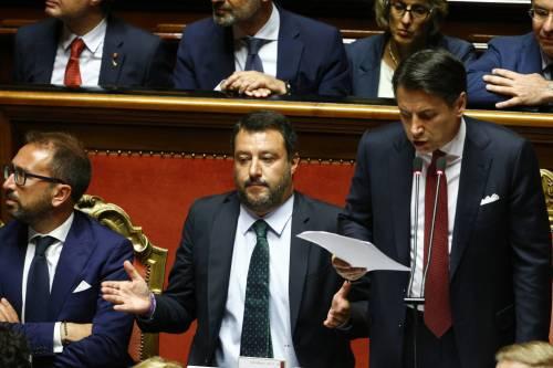 Crisi di governo, la gestualità di Matteo Salvini 4