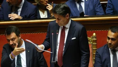Crisi di governo, la gestualità di Matteo Salvini 5