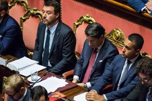 Crisi di governo, la gestualità di Matteo Salvini 8