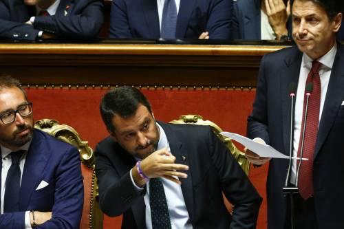 Crisi di governo, la gestualità di Matteo Salvini 9