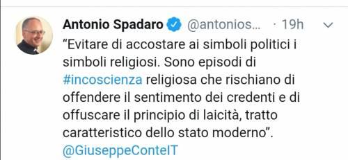 """Ora lo """"spin doctor"""" del Papa twitta l'attacco di Conte a Salvini"""