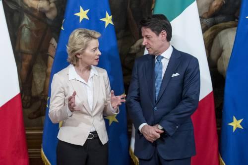 """Von der Leyen avvisa l'italia: """"Gualtieri conosce le aspettative"""""""