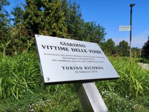 Quel giardino dedicato alle vittime delle foibe abbandonato al degrado
