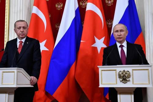 L'alleanza Putin-Erdogan alla prova dell'America