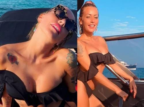 """Karina Cascella sogna il tempo dei maglioni e il web insorge: """"C'è chi non è andato in vacanza"""""""
