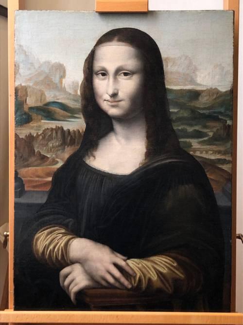 """Viminale, Salvini restaura """"La Gioconda"""" di Leonardo"""