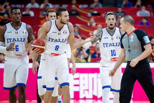 Mondiali di Basket, arriva la prima sconfitta: l'Italia cade contro la Serbia 77-92