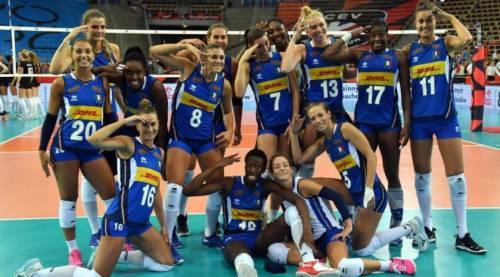 Europei di volley, l'Italia manda al tappeto 3-0 la Polonia. Medaglia di bronzo