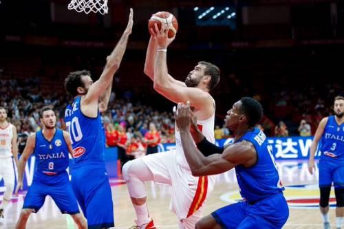 Mondiali di basket, l'Italia è fuori: trionfa la Spagna 67-60