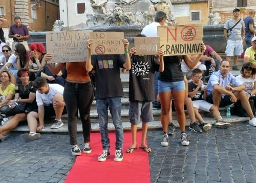 Friday for future in piazza contro le Grandi Navi a Venezia 2