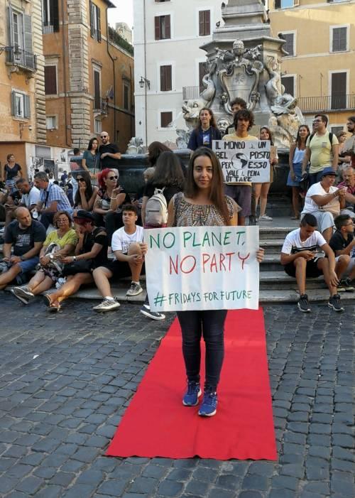 Friday for future in piazza contro le Grandi Navi a Venezia 5