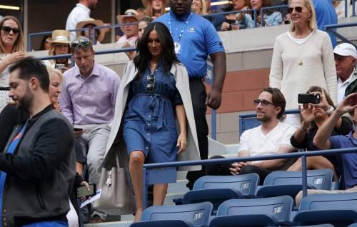 Meghan Markle in jeans conquista tutti con il suo look casual alla finale degli Us Open 3