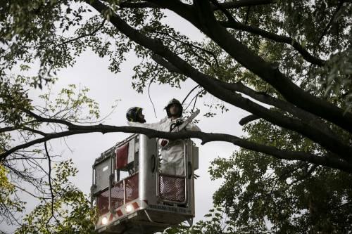 Uomo trovato morto impiccato a Milano 2