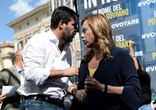 Sondaggi, fiducia in Salvini al 40%. La Meloni sorpassa Di Maio