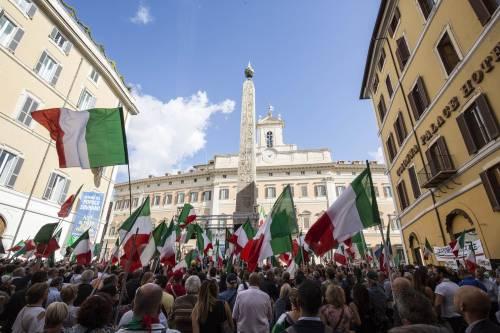 FdI e Lega in piazza contro il Conte bis 4