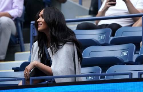 Meghan Markle alla partita di tennis: foto 10