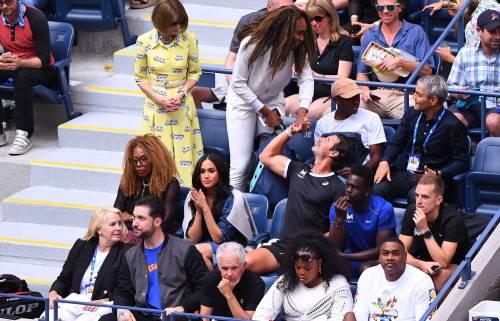 Meghan Markle alla partita di tennis: foto 9