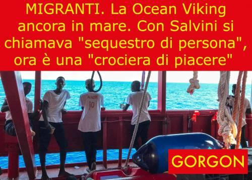 La satira del giorno - Ocean Viking ancora in mare