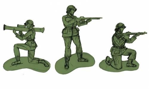 """Ecco le """"soldatine"""" di plastica: il trionfo del politically correct"""