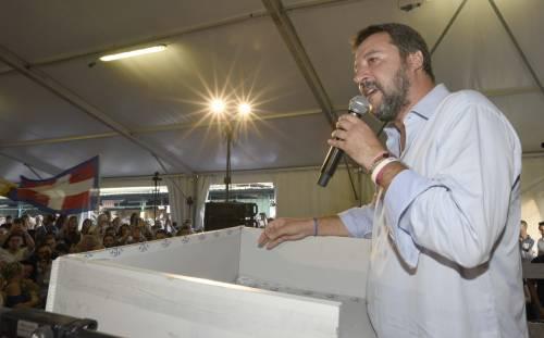 """Ius soli, Salvini attacca """"Priorità per Pd e 5 Stelle"""""""