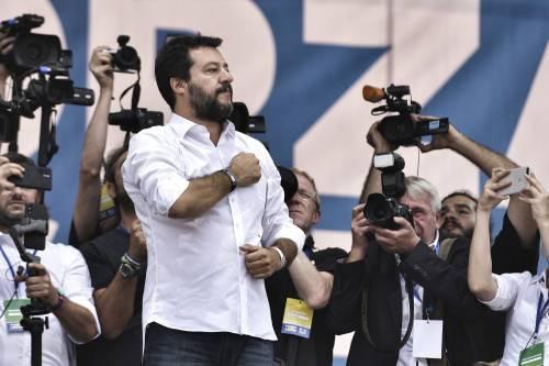 """Salvini sullo ius soli: """"Se andranno avanti pronto referendum"""""""