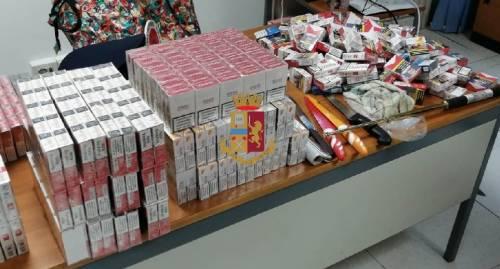 """Droga e sigarette di contrabbando nel """"basso"""""""