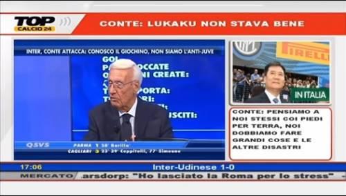 """""""Per fermare Lukaku ci vogliono le banane"""". Licenziato in diretta tv"""