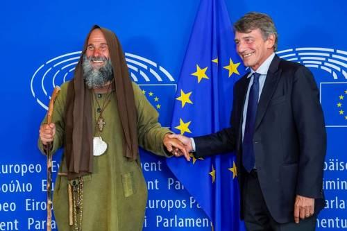 """Il missionario Biagio Conte a Bruxelles: """"Non alziamo muri"""""""
