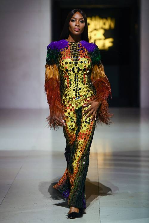 Naomi Campbell alla London Fashion Week: foto 2